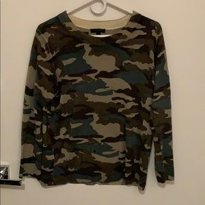 Jcrew Tippi Camo Sweater, new (XL)